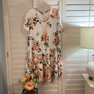 Darling, super soft fabric and colorful dress! 2X